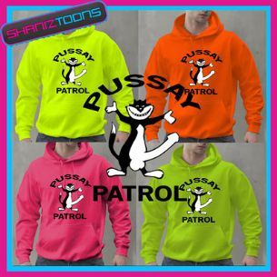 PUSSAY PATROL FUNNY LADS TV MOVIE DESIGN STAG HOLIDAY ADULTS HOODIE - 160649479565